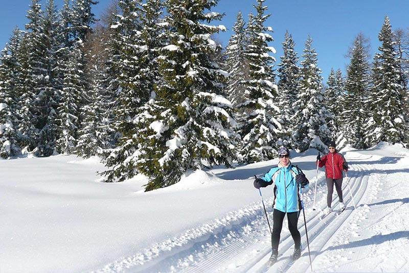 Cross-country skiing in Osttirol